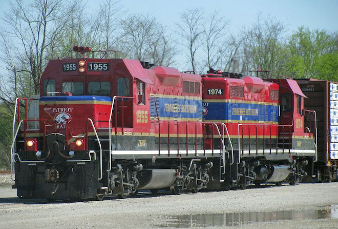Photo of GP9R 1955